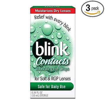 Amazon.com: Blink contactos Lubricante Ojo gotas, 10 ml ...