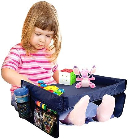 Amazon.com: Bundaloo Snack n Play Bandeja para niños, mesa ...