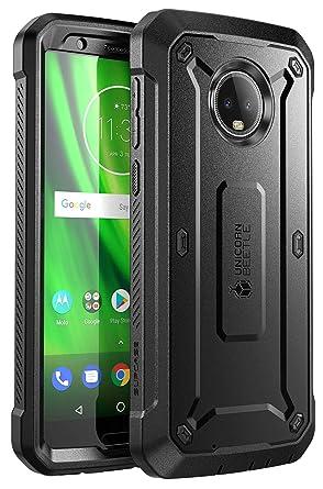 Amazon.com: SUPCASE - Funda para Moto G6 con protector de ...