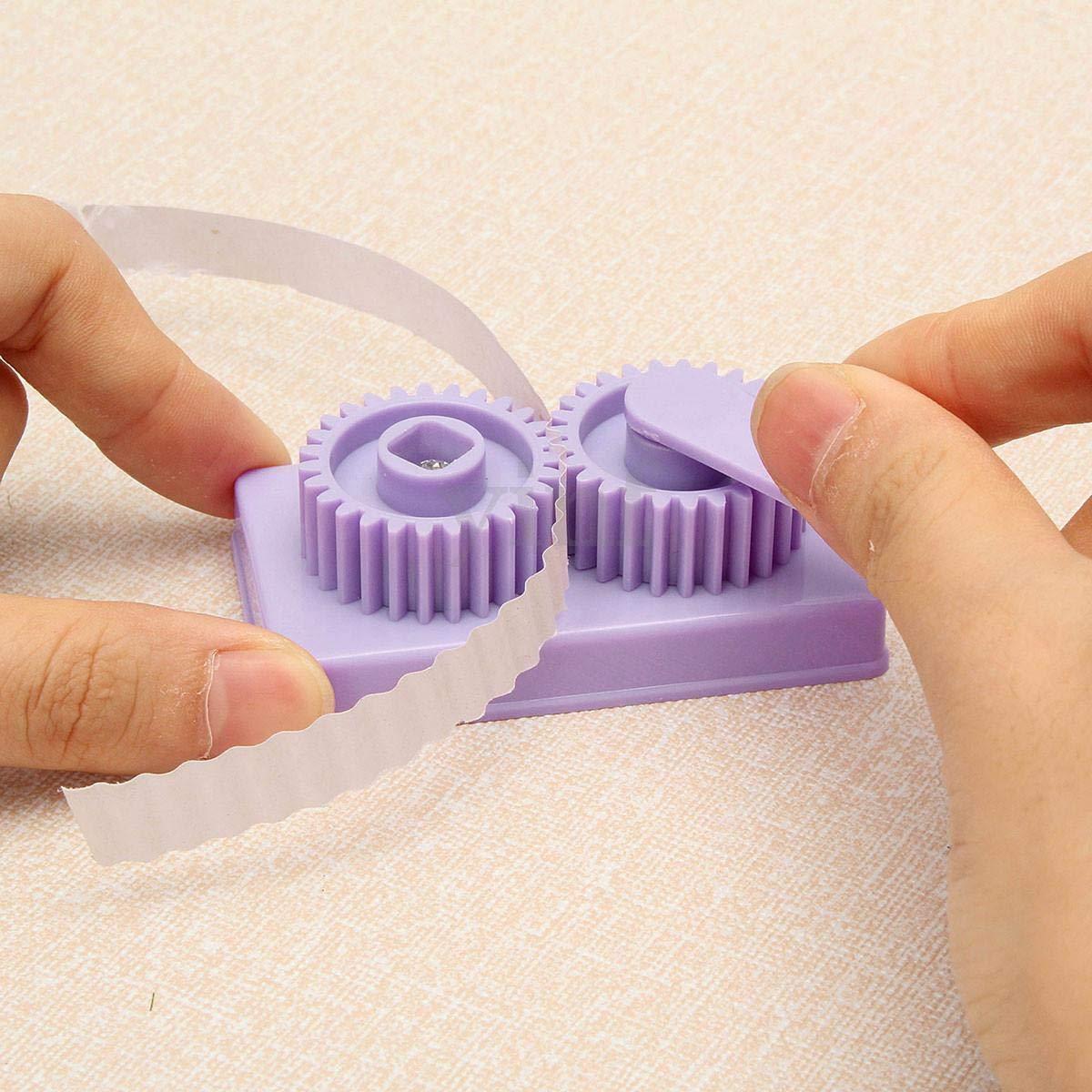 Carta Slip Wave Shaper Making Tool Carta Quilling Papercraft Origami Craft DIY Quilling Forniture Handmade Decor Yosoo Paper Crimper Crimping Tool Blue
