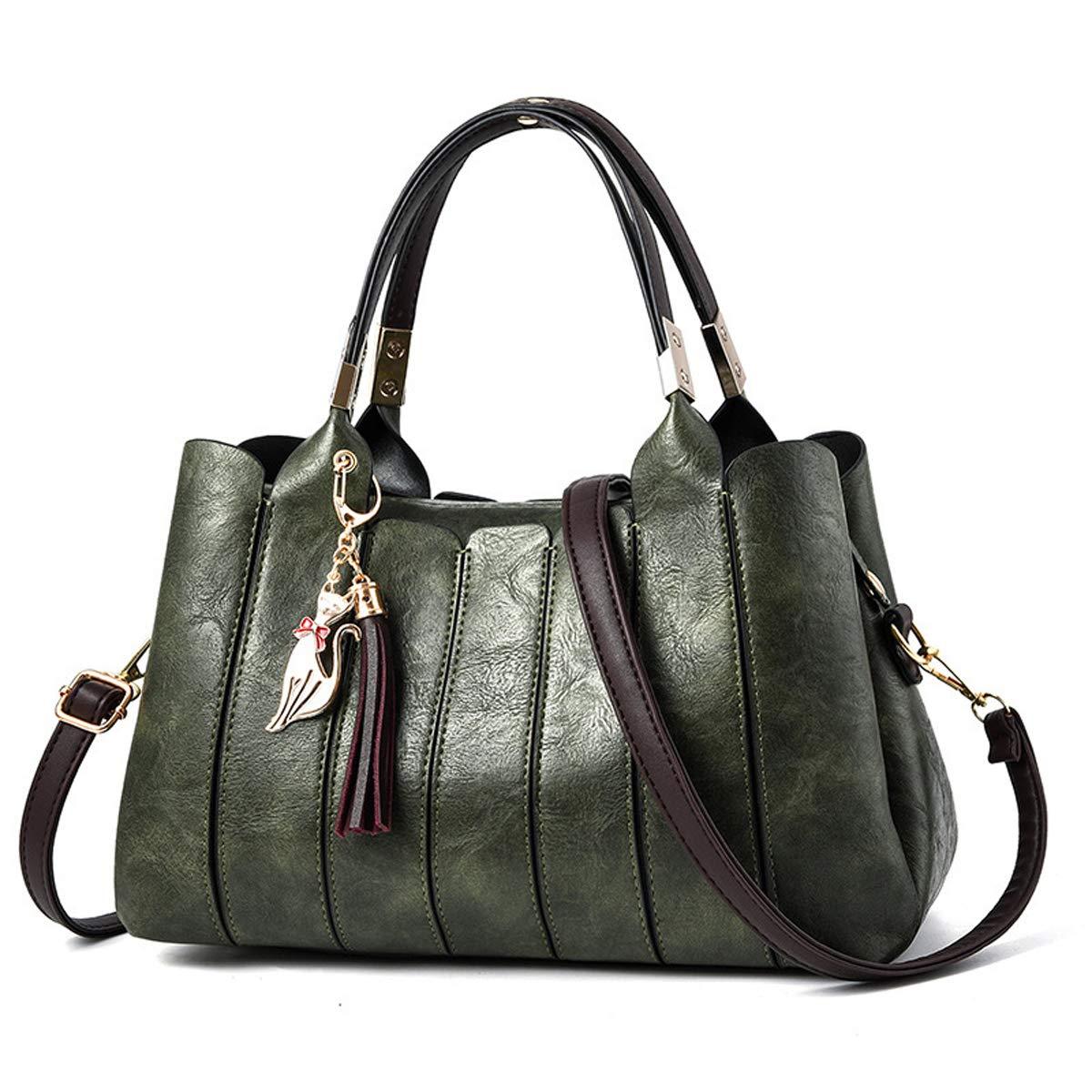 Damentasche Exull-92090 Handtasche Damen Leder Handtasche Schultertasche lässigen Tasche Handtasche Elegant B07MWVGVFS Henkeltaschen Reichhaltiges Design