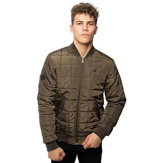 New Hombres Kangol Brand Light Acolchado Acolchado MA1 Bomber Casual Chaqueta de abrigo: Amazon.es: Ropa y accesorios