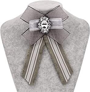 Mujer Broche para Bufandas de Novia, Mujeres Simple Crystal ...
