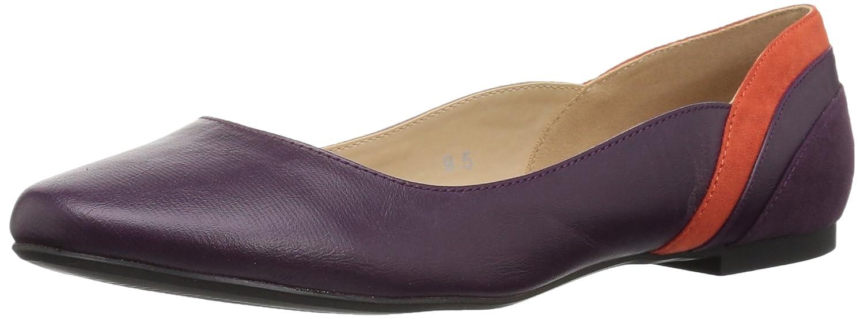 Callisto Women's Fordye Ballet Flat B06XTF4B33 5 B(M) US|Purple
