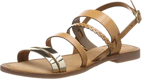Kickers Ethal, Sandales Bout Ouvert Femme