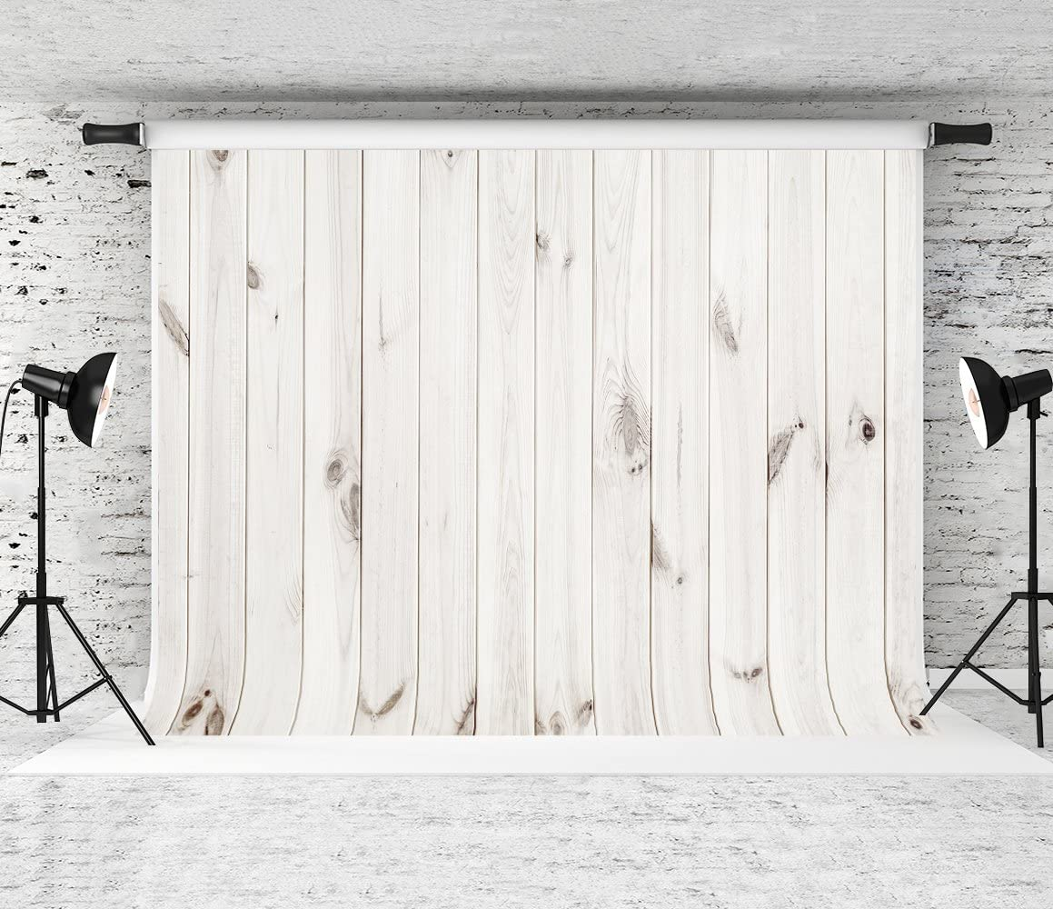 Kate 8x8ft White Wood Backdrops for Photography Wood Photography Backdrop Wooden Background