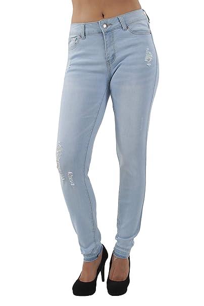 Junior & Plus, Classic Premium Denim, Destroyed, Ripped, Ankle Jeans