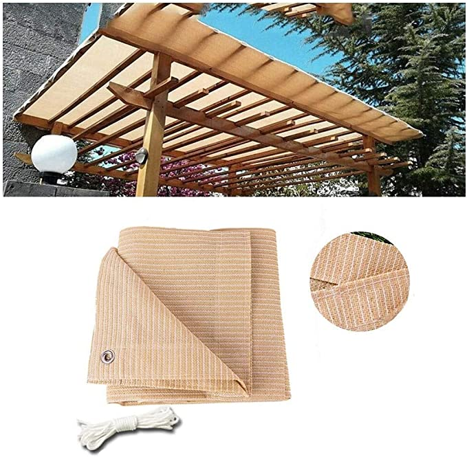 Vela de Sombra Toldo Vela para Jardin Patio Toldo Vela Triangular Resistente al Agua Poliéster Protección Solar 95% Anti UV for Exteriores, Patios Jardines Terraza Balcón Aire Libre Tasa de Sombra Tol: