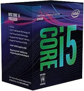Intel Core i5-8600K Desktop Processor 6 Cores up to 4.3 GHz Unlocked LGA 1151 300 Series 95W