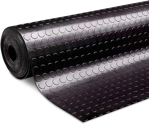 3mm 100x300 cm Suelo de Goma Antideslizante etm Rollos Caucho para Suelo Alfombras de Caucho Resistentes Diamante Aislamiento T/érmico y Ac/ústico