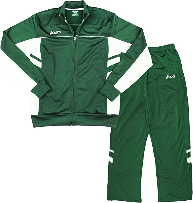 ASICS Mens Cabrillo Pants and Jacket Athletic Tracksuit Set ...