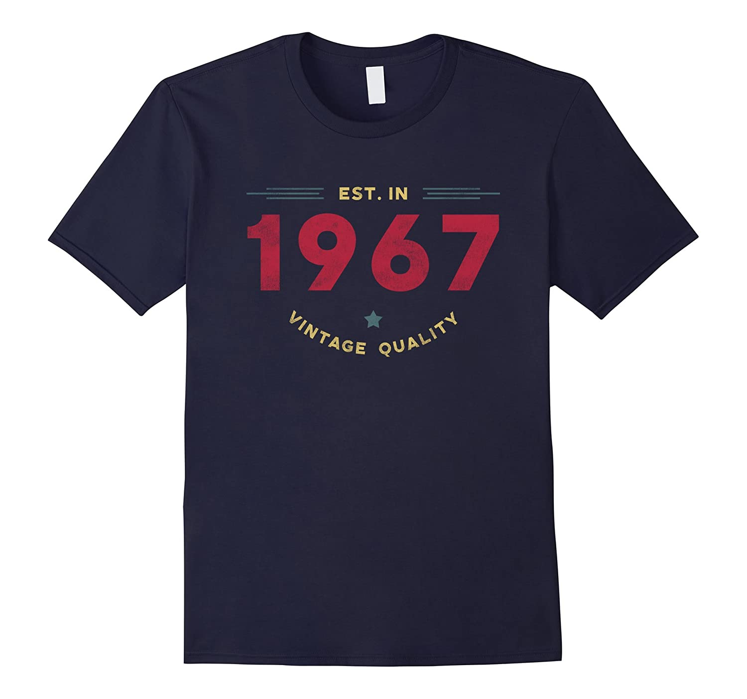 1967 50 Years Old Vintage 50th Birthday T-shirt-TD