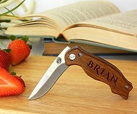 Cuchillo de bolsillo, cuchillo de bolsillo de encargo, cuchillo de encargo, cuchillo grabado, cuchillo personalizado, cuchillo del regalo de los padrinos de boda, regalo para él, cuchillo de los padrinos de boda, regalo del padrino de boda