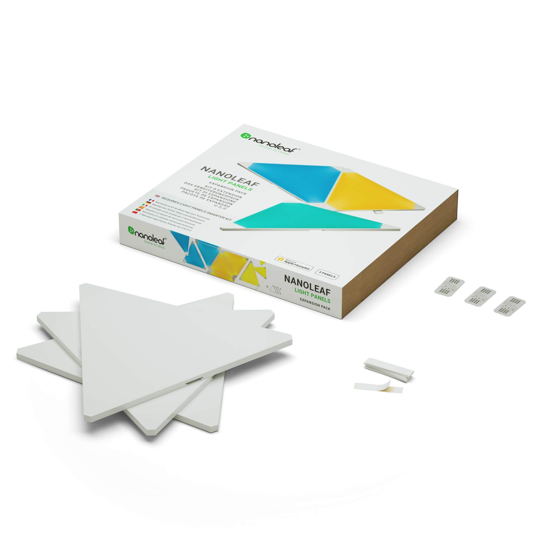Nanoleaf Aurora Expansion Pack - Paneles modulares de iluminación inteligentes, color blanco product image