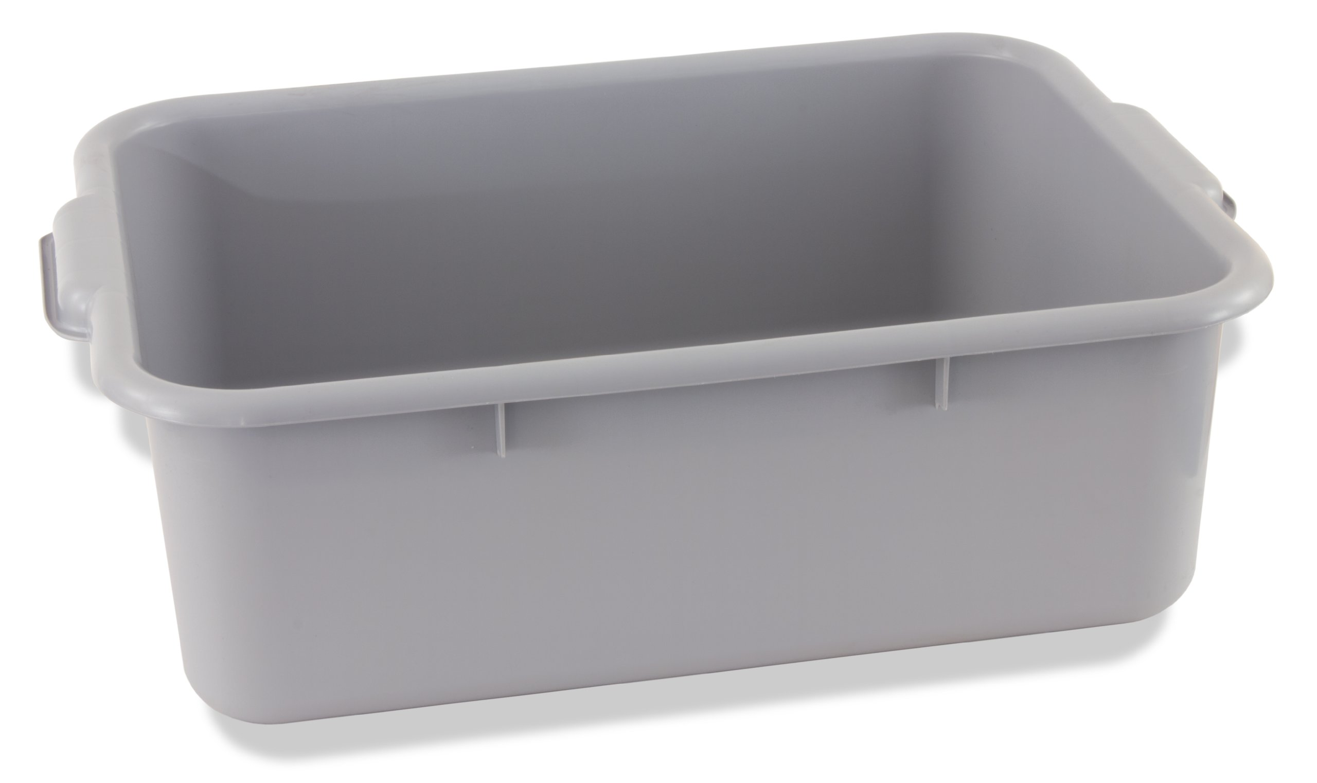 Crestware BT7GY Heavy-Weight Bus Tub, 7-Inch, Gray