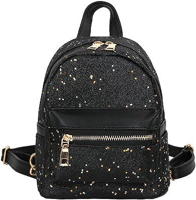 Koly の 2018 Mode Mini Femmes Sac à dos en faux cuir Ado Filles petit Sacs à bandoulière Double de scolaire Cartable sac de téléphone portable voyage