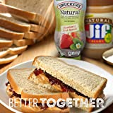 Smucker's Natural Squeeze Fruit Spread, Strawberry, 19 Ounce