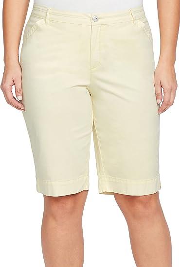 185360ae86c Bandolino Women s Plus-Size Ivette Polish Berumda Short Bermuda ...