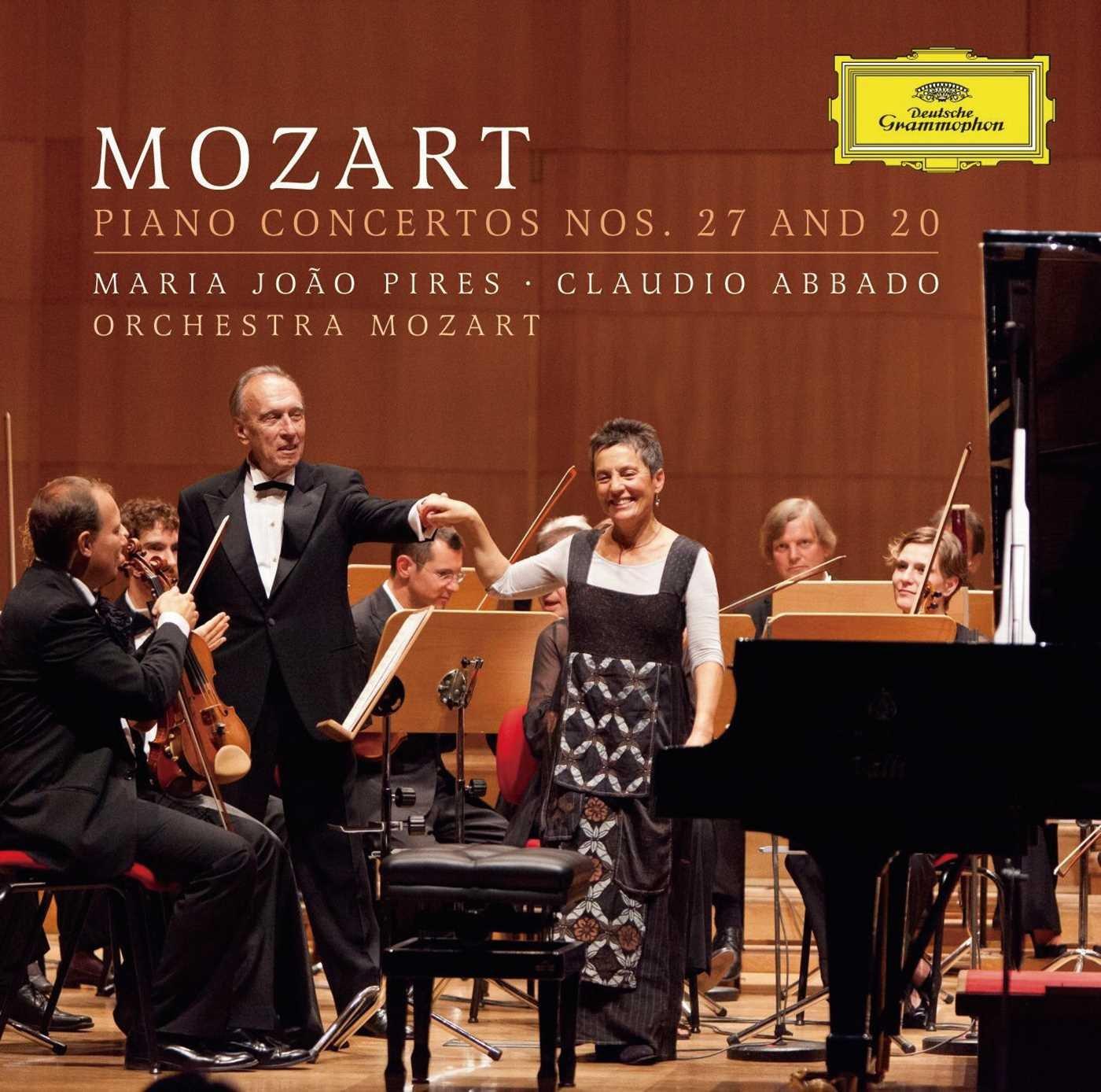 CD : Maria Jo o Pires - Piano Concertos Nos 27 /  K595 & 20 /  K466 (CD)