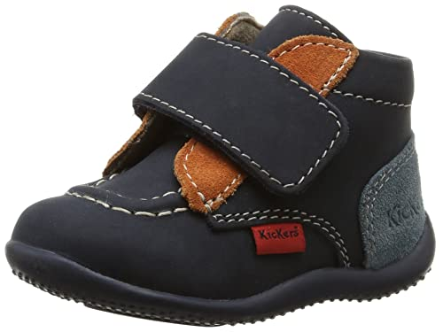 Marine bébé Bono Chaussures Mixte Pas Bleu Premiers Kickers 0RwZn4xZ