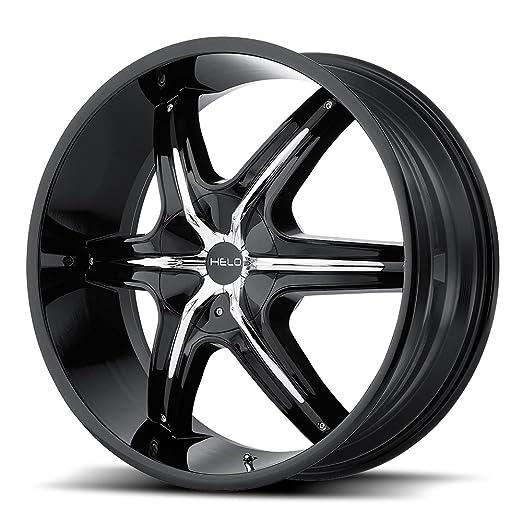 Helo HE851 Gloss Black Wheel With Machined Face (22x8.5 /5x112mm) Модель - фото 9
