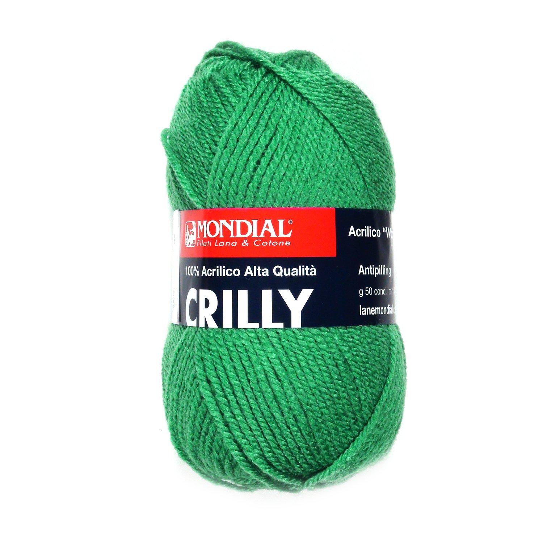 Crilly filato 100/% Acrilico verde