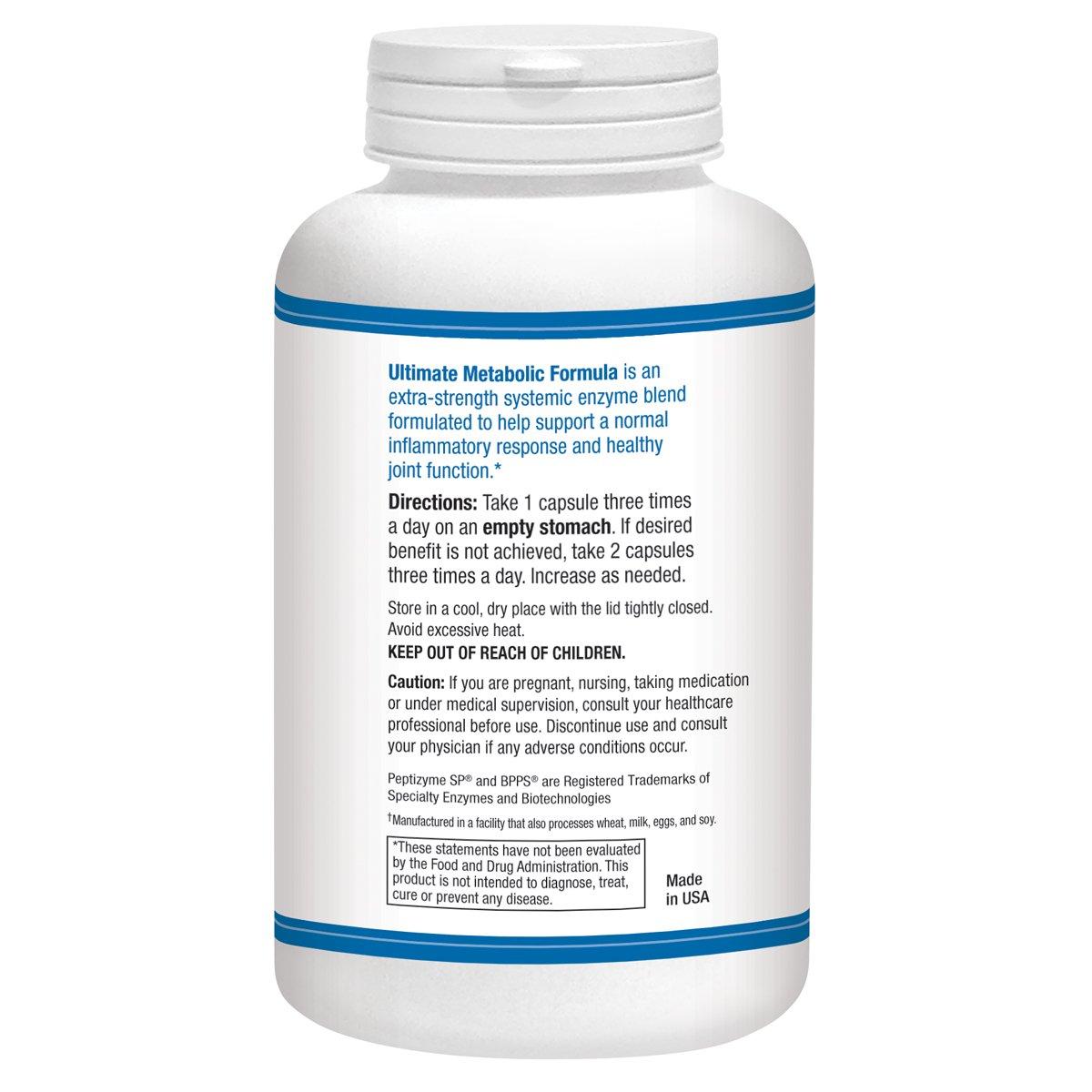 Amazon.com: Ultimate Metabolismo Fórmula – 200 °Cápsulas ...