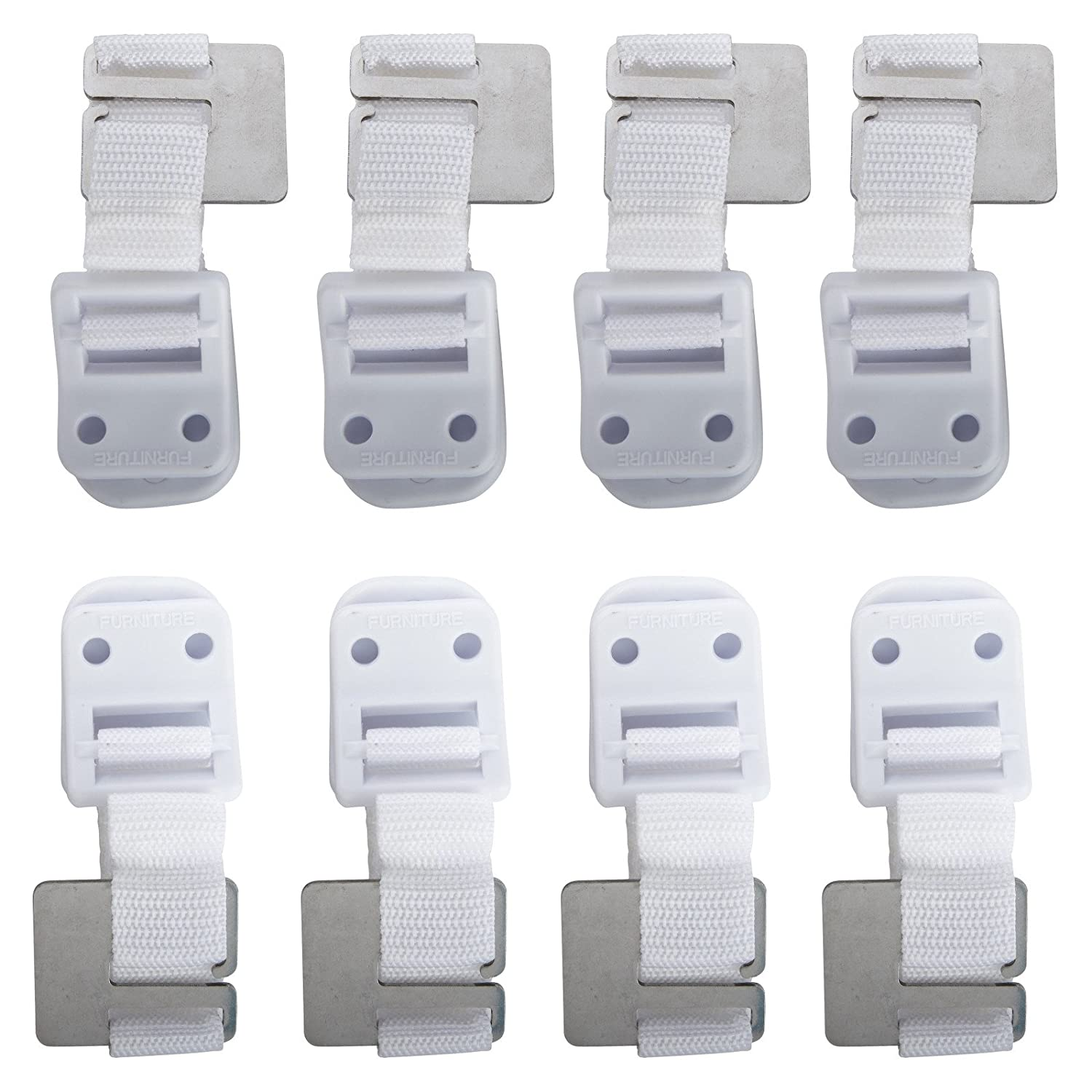 Safety 1st Cabinet Lock Amazoncom Safety 1st Furniture Wall Straps 6 Pack Cabinet