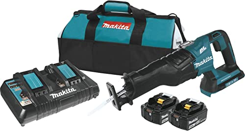 Makita XRJ06PT 18V x2 LXT Lithium-Ion 36V Brushless Cordless Recipro Saw Kit 5.0Ah