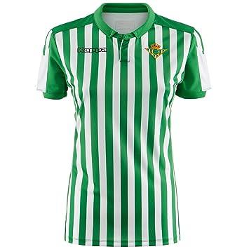 Kappa Official Jersey Home Wo Betis Camiseta de equipación, Mujer ...