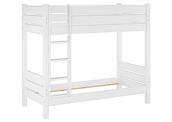 Etagenbett Holz Weiß : Etagenbett dino hohe mit zwei seite eingang matratze holz