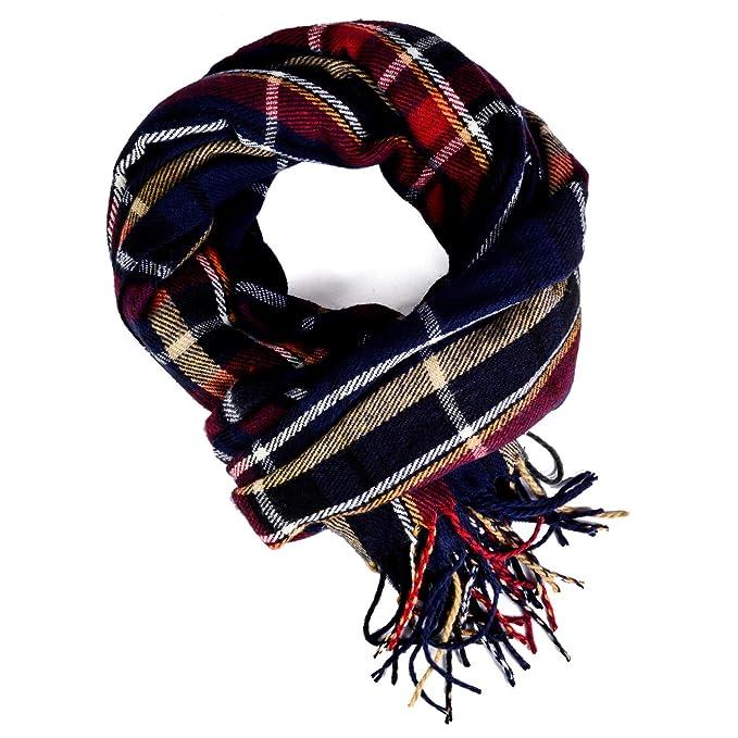 estilo moderno bebé donde puedo comprar Bufanda Manta a Cuadros Para Mujeres, Largo Grande Cálido Bufandas de  Tartán Abrigo Chal