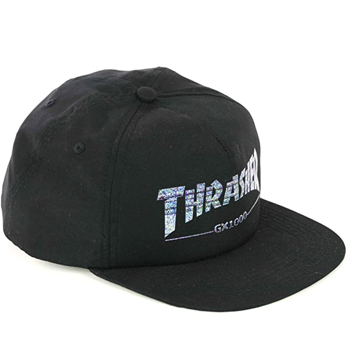THRASHER - Gorra GX 1000 Snapback Talla: One Size Negro Talla única: Amazon.es: Ropa y accesorios