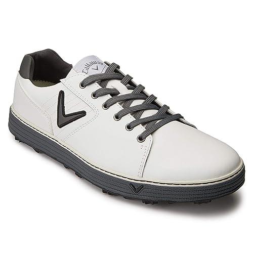 online store ed473 408b3 Callaway Hombre Delmar Urban Zapatos De Golf Blanco EU 41 (UK 7)