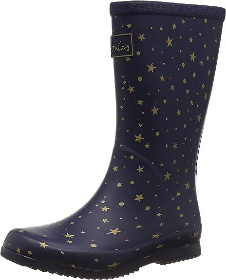 Joules Girls Roll Up Welly Welly Boots Amazon De Schuhe Handtaschen