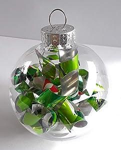 Mountain Dew Soda Pop Can Ball Christmas Ornament