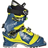 Scarpa Men's T2 Eco Ski Boots True Blue / Acid
