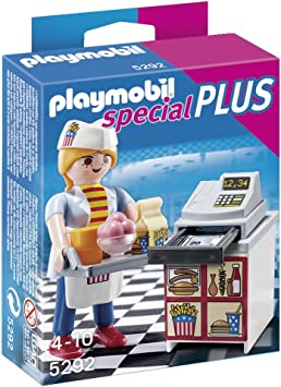 PLAYMOBIL Especiales Plus - Camarera con Caja registradora (5292 ...