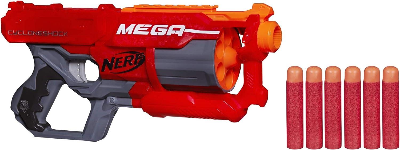 Nerf- N-Strike Elite Mega Cycloneshock (Hasbro A9353EU7)