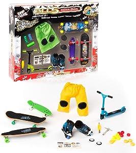 Grip&Tricks - 5RIDER BOX - GIFT SET OF - FINGER SKATES - ROLLER - SCOOTER - RAMPS by Grip&Tricks