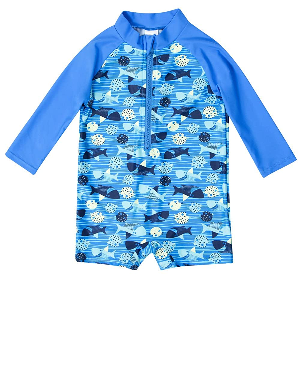 CharmLeaks Baby Girls' Long Sleeve Dot Rash Guard Set UV Sun Protection Swim Set