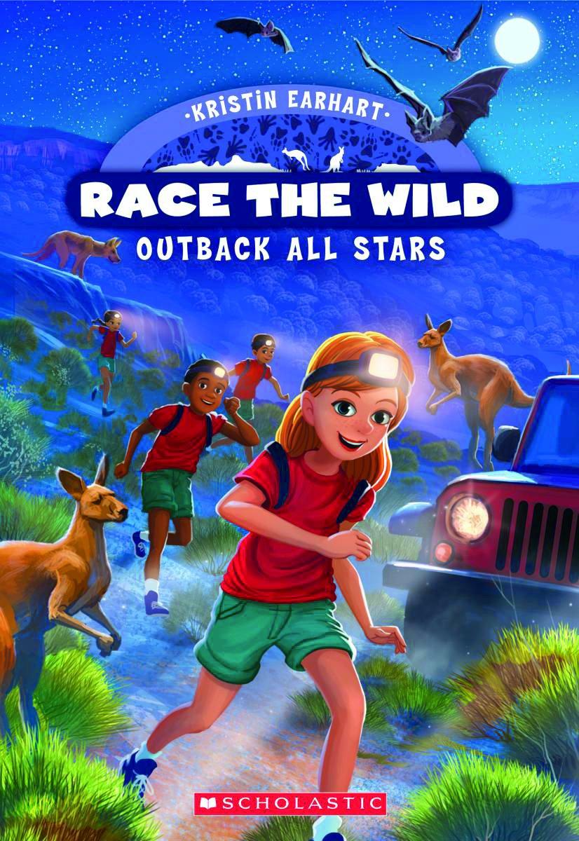 Outback All-Stars (Race the Wild): Kristin Earhart: 9780545940641:  Amazon.com: Books