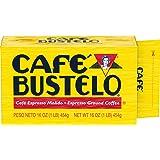 Café Bustelo Espresso Dark Roast Ground Coffee Brick, 16 Ounces