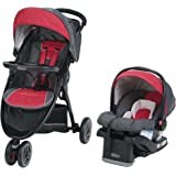 Graco FastAction Sport LX Travel System, Chili Red