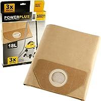 POWERPLUS POWX321A - Bolsa de polvo 3 unidades