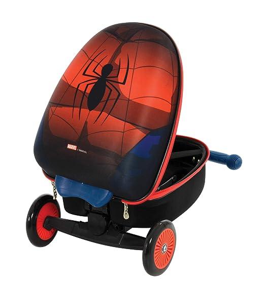 Amazon.com: Spider-Man M004064 Scootin - Maleta, color rojo ...