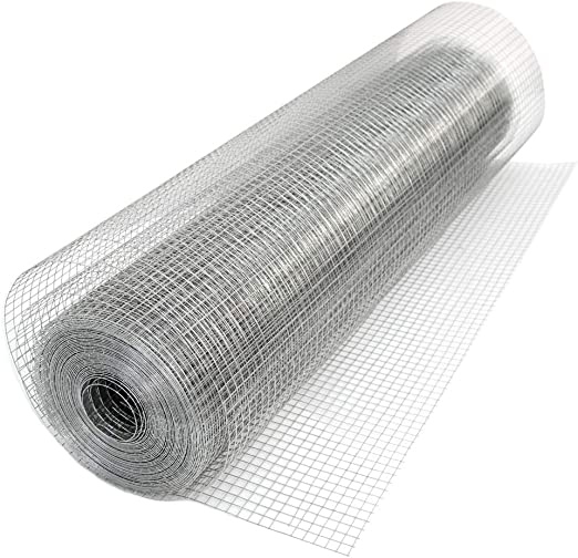 15M X 0.9M PVC Coated Galvanised Wire Netting Mesh Pet Aviary Fence Garden Hutch