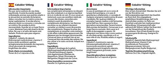Celadrin 500mg - 60 Cápsulas - SimplySupplements: Amazon.es: Salud y cuidado personal