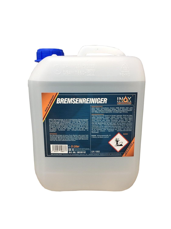 Nettoyant de freins Inox sans acé tone 5 litres.