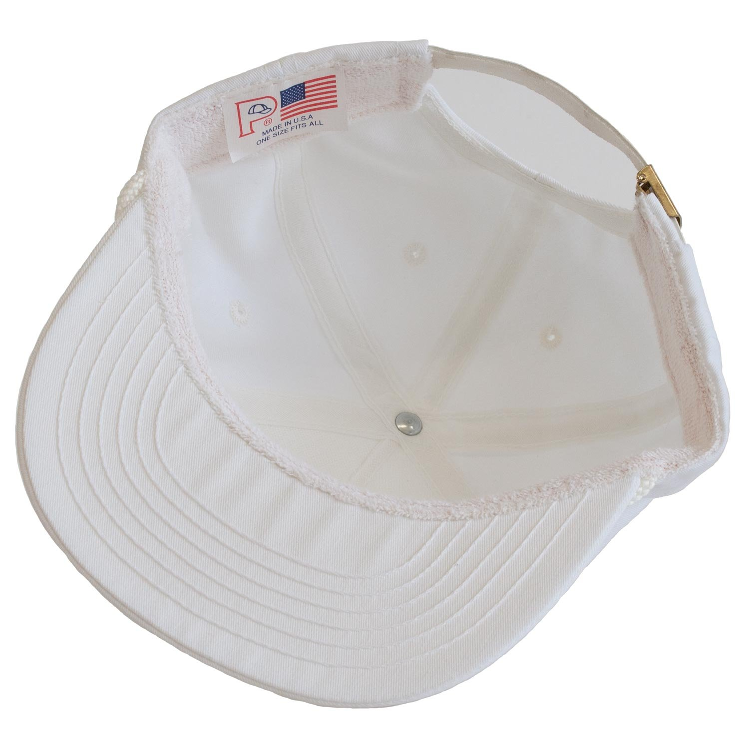 Levine Hat Co 100% Cotton Twill Structured Baseball Cap with Rope Accent  Adjustable Size (3+ Colors) (One Size 4f90314e9103